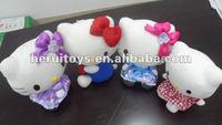 cellphone pendant toys / small toy /mini hello kitty plush toy