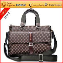 Men laptop shoulder bag for business 2012 new design