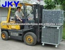 folding wire mesh pallets/mesh box pallet/metal wire mesh pallets