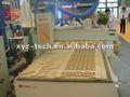 Xyz- tech xj1325 router cnc madera 3d con heavy- duty torno cama para la decoración de interiores