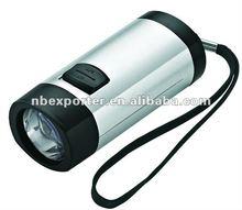 Cranking LED Flashlight