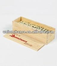 plastic double six dominoes set,domino game set