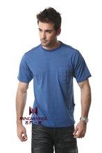100% menufacturer brand cotton casual round neck t shirt