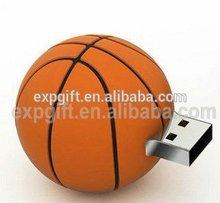 basketball usb memory stick, basketball usb flash drive, sport series usb pen drive
