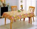 120 mesa redonda de tela / plástico de jardín de pvc con franela respaldo manteles para bodas / hotel / restaurante
