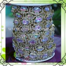2012 hot sale fashion rhinestone cup chain