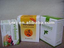 stevia sachet package