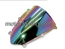 universal motorcycle windshields for cbr600rr 07-11 Iridium Smoke