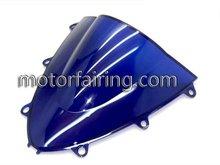 blue front windshields cbr1000rr windcsreen 08-11
