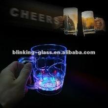 led flashing drink glass