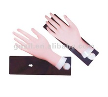 reusable movable nail practice trainer hand