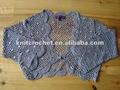 fancy projeto novo de verão das senhoras xaile de croché mão colete direto do fabricante
