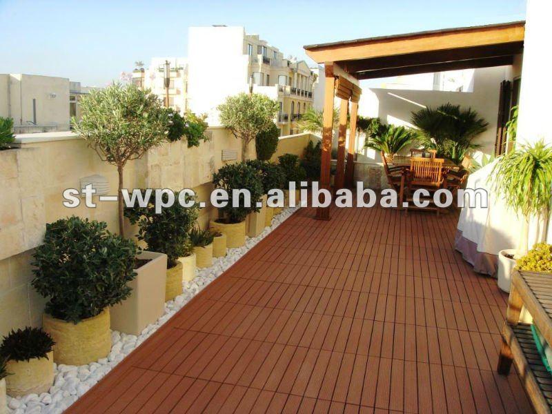 Wpc azulejos para la terraza otros pavimentos - Azulejos de terraza ...