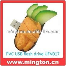 Pvc food shape flash memory 16gb
