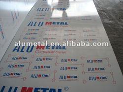 Alumetal aluminum composite panel