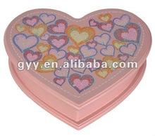 Valentine heart-shape gift box set 2012 new !