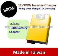 800w 50A Pure Sine Wave inverter battery charger 12V inverter UPS