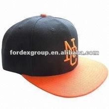 2012 Fashion Custom Flat Visor Baseball Cap with 3D Embroidered Logo
