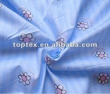 100% cotton printed twill bedding fabric