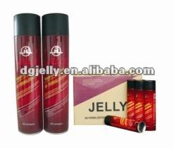 Jelly spray adhesive