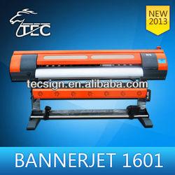 Banner digital printer TJ-1601 indoor/outdoor printer with dx5 print head, double 4/8 colors