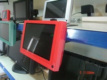 """7"""" Point of Sales Monitor with IR motion sensor, USB Auto update. LCD advertising video screen"""