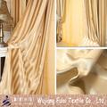 De alta qualidade tarja Sunproof Polyester Blackout cortina