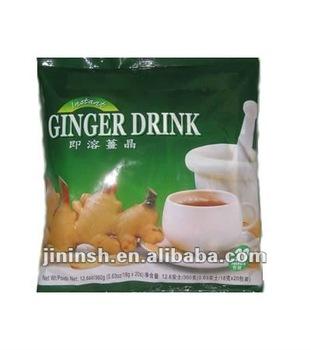 OEM Instant honeyed ginger tea (18gX20sachets/box) ginger tea
