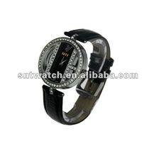 2012 leather watch strap black