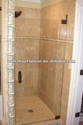 Frameless Glass Single Hinged Shower Door