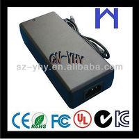 12V 8A 96W power adaptor with CE FCC UL KCC ROHS