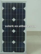 25w monocrystalline solar panel