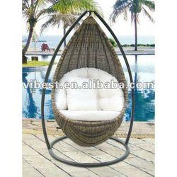 hanging rattan egg chair round rattan cheap price