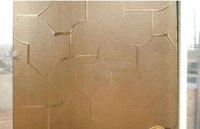 4mm or 5mm karatachi pattern glass Color clear, bronze,grey