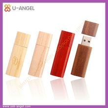 Eco friendly wooden USB flash drives, , 4G usb flash disk , bar shaped usb pen