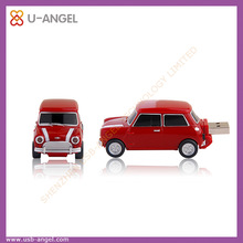 Wholesale car shaped 8GB USB flash drive with full capacity and factory price