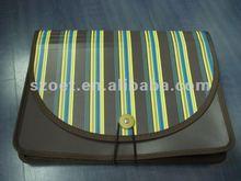 Plastic Portfolio bag/case made of eco-friendly PP