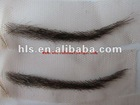 Hight quality human hair eyebrow
