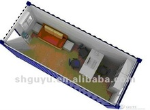 modern design container house/prefab house design