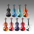 Sperrholz violine, schülergeige, farbe violine