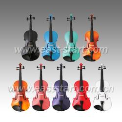 Plywood Violin,Student Violin,Color Violin