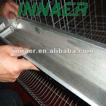 Strip Form galvanized Animal Feeding Trough For Chicken Cage