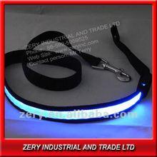 2012 fashion flashing light led dog leash