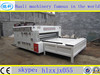 High speed 3 color printer slotter die cutter machine for corrugated carton box making