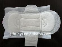 sanitary napkin ion