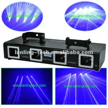 dj blue laser light/4 head stage lighting/laser show system/pro lighting- L2540