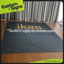 Dye Sublimation Printing Straight Grain Fabric Banner
