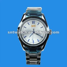 2012 top brand mens watches, stainless steel band, case back