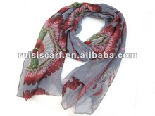 2012 Latest Fashion Scarf with flower