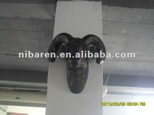 fashion mutton head carving for wall decoration
